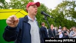 Валер Цапкала ўГорадні 5чэрвеня