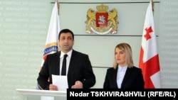 Сегодня же Леван Бежашвили представил главу новой службы Натию Могеладзе