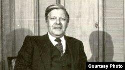 Helmut Schmidt - foto arkivi