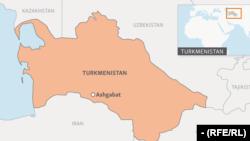 turkmenistan map webmap