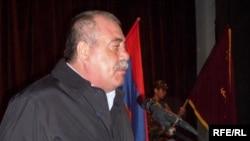 Председатель Союза добровольцев «Еркрапах» Манвел Григорян (архив)