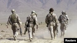 Australian Special Forces taking part in a training exercise in Afghanistan (file photo).