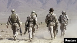Australian Special Forces task group soldiers take part in a training exercise in Afghanistan. (file photo)