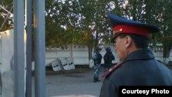 Сотрудники полиции в городе Павлодаре. Иллюстративное фото.