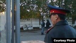 Павлодардағы полиция қызметкерлері (Көрнекі сурет).