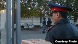 Сотрудник полиции в городе Павлодар. Иллюстративное фото.