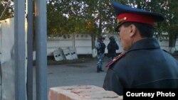 Павлодардағы полиция қызметкері (Көрнекі сурет)