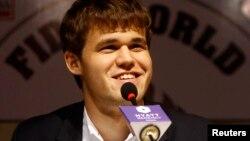 Чемпіон світу з шахів Маґнус Карлсен