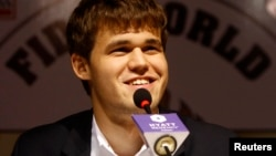 Norway's Magnus Carlsen is the highest-rated player in chess history.