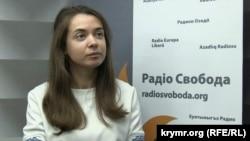 Юрист Украинского Хельсинского союза по правам человека Дарья Свиридова