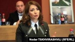 Грузиянын Жаза аткаруу, Көзөмөл жана Юридикалык жардам министри Хатуна Калмакхелидзе