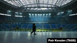 Ілюстраційне фото. Стадіон «Зеніт-Арена» в Санкт-Петербурзі – один з тих, на яких проходитимуть матчі Чемпіонату світу з футболу 2018 року