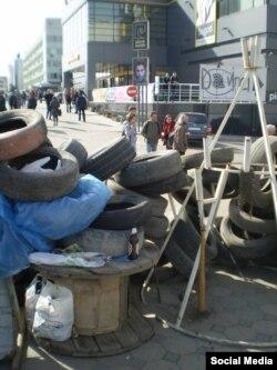 «Піўныя барыкады» луганскіх сэпаратыстаў