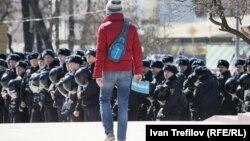 На акции протеста 26 марта в Москве