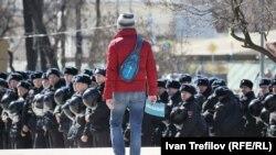 На антикоррупционной акции в Москве