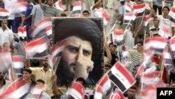 تجمع لأنصار مقتدى الصدر في بغداد، 28 تموز 2009