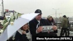 Большой Белый круг в Москве 26 февраля 2012 года