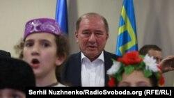 Церемония приветствия Ильми Умерова в Киеве