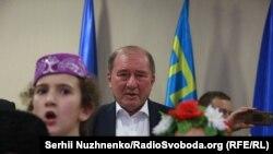 Церемонія привітання Ільмі Умерова в Києві