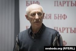 Старшыня суполкі «Пагоня» Генадзь Драздоў
