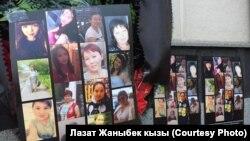 Фотографии погибших при пожаре в Московской типографии.