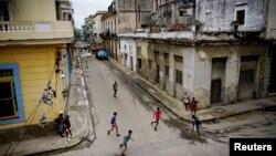 На вуліцах Гаваны, сталіцы Кубы. Ілюстрацыйнае фота