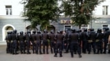 Belarus - Protest and arrests in Mahiliou, 10aug2020