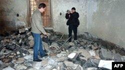 Shkatërrimet nga bombardimet e forcave siriane...