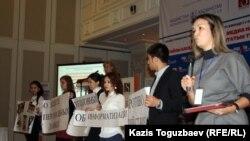 Медиа құрылтай. Алматы, 20 қараша 2012 жыл.