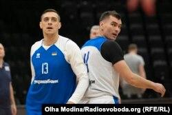 Тренування збірної України з баскетболу