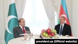 Ադրբեջանի նախագահի և Պակիստանի վարչապետի հանդիպումը Բաքվում, 14-ը հոկտեմբերի, 2016թ․