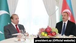 Muhammad Nawaz Sharif və İlham Əliyev