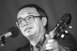 Юлий Ким в 1988 году