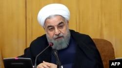 Хасан Роугані на засіданні уряду Ірану, Тегеран, 19 липня 2017 року