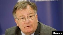 Danish Defense Minister Claus Hjort Frederiksen (file photo)