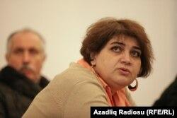 Азаттықтың Баку бюросының қызметкері Хадиджа Исмаилова.