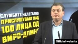 Прес-конференција на Оливер Андонов од ВМРО-ДПМНЕ