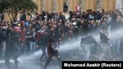 مظاهره در بیروت پایتخت لبنان