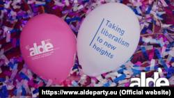 Materiale electorale ALDE.