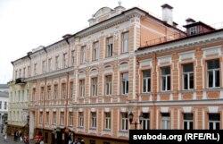 Былы будынак польскага акруговага суду на вул. Савецкай