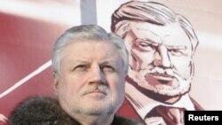 Кандидат в президенты РФ Сергей Миронов