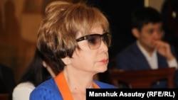 Гүлжан Ерғалиева, журналист.
