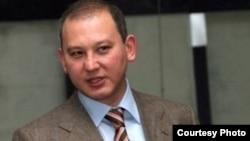 Мухтар Джакишев в бытность президентом национальной компании «Казатомпром». Фото из газеты «Республика».