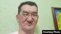 Буркутбай Насырханов, житель города Сатпаев Карагандинской области, обвиняемый в «участии в деятельности» движений «Демократический выбор Казахстана» (ДВК) и «Көше партиясы».