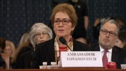 Former U.S. Ambassador To Ukraine Says She Was 'Kneecapped' By Smears