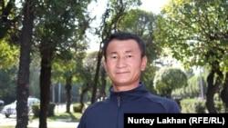 Ергали Ермек, который более года провел под стражей в «лагере политического перевоспитания» в Синьцзяне. Алматы, 21 сентября 2019 года.