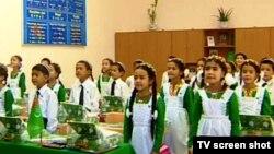 Türkmenistanyň orta mekdebi