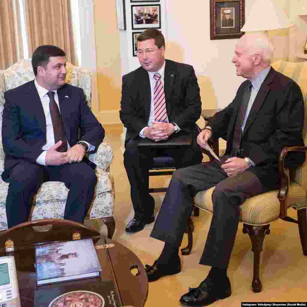 Із сенатором США Джоном МакКейном