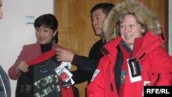 Ольга Решетковага спорттук кийим тапшырылды.