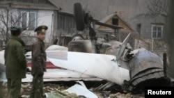 Разбившийся более года назад Су-27, 6 апреля 2011